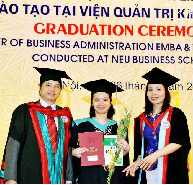 Áo lễ phục tốt nghiệp cho thạc sỹ