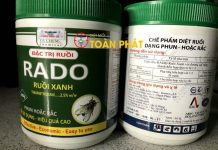 Thuốc diệt ruồi Rado ruồi xanh